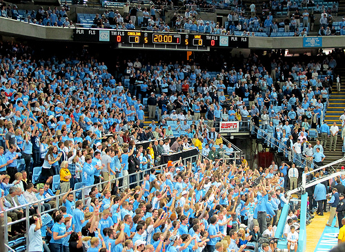 Top 5 Student Sections in ACC Basketball